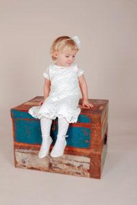 Белое платье для девочки 3 года